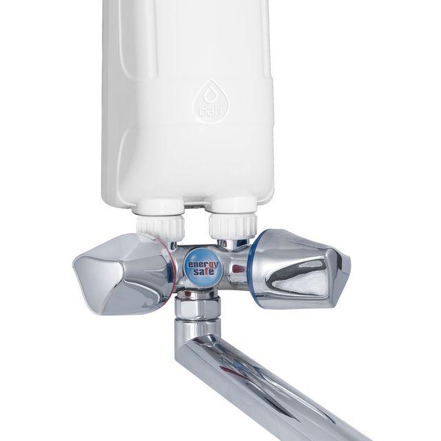 Ogrzewacz wody DAFI 3,7 kW (230V) z chromowaną baterią kranową