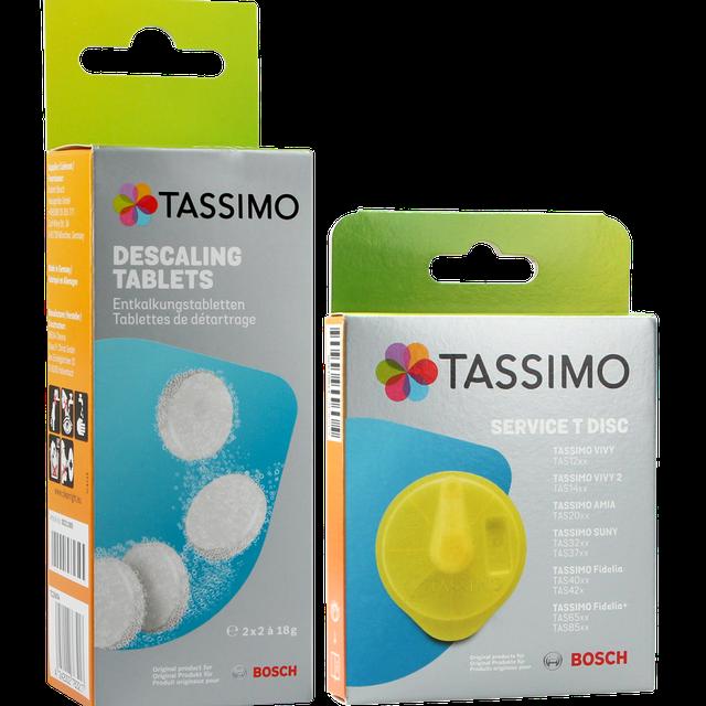 Dysk czyszczący Tassimo Bosch T-disk 576836 + tabletki odkamieniające 311909 TCZ6004