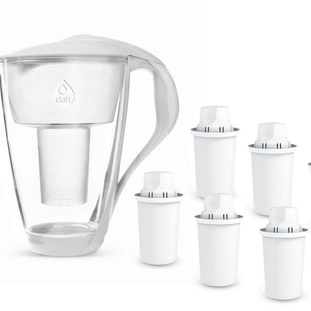 Dzbanek filtrujący Dafi Crystal (biały) +6 filtrów Dafi Classic