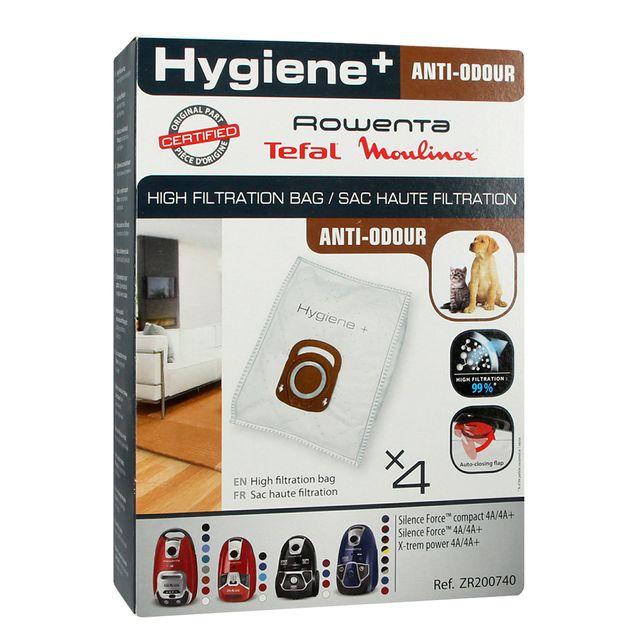 Worki do odkurzacza Rowenta ZR200740 Hygiene Plus (4szt.)