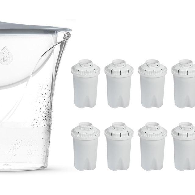 Dzbanek filtrujący Dafi START Classic 2,4L (stalowy) +12 filtrów FilterLogic FL-601