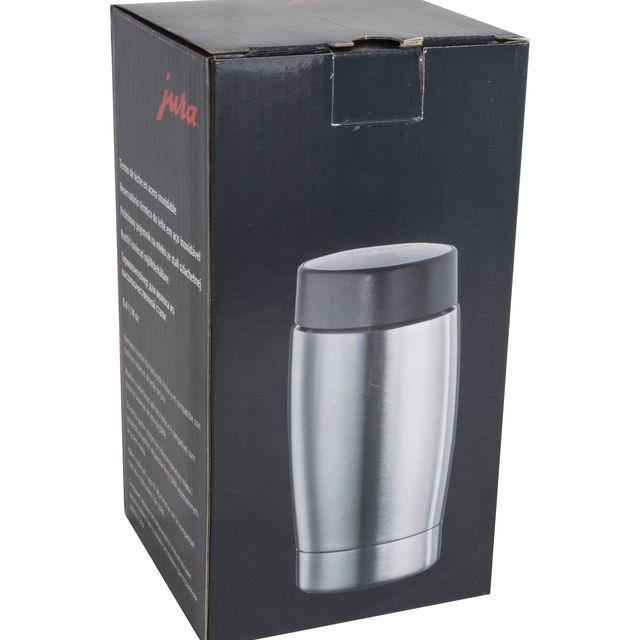 Pojemnik próżniowy na mleko Jura 68166 (0,4 litra, stal nierdzewna)