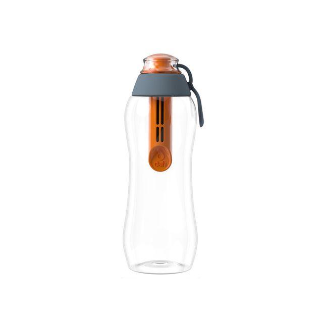Butelka filtrująca DAFI 0,3L +1 (hybryda) Limitowana Edycja (pomarańcz/stal)