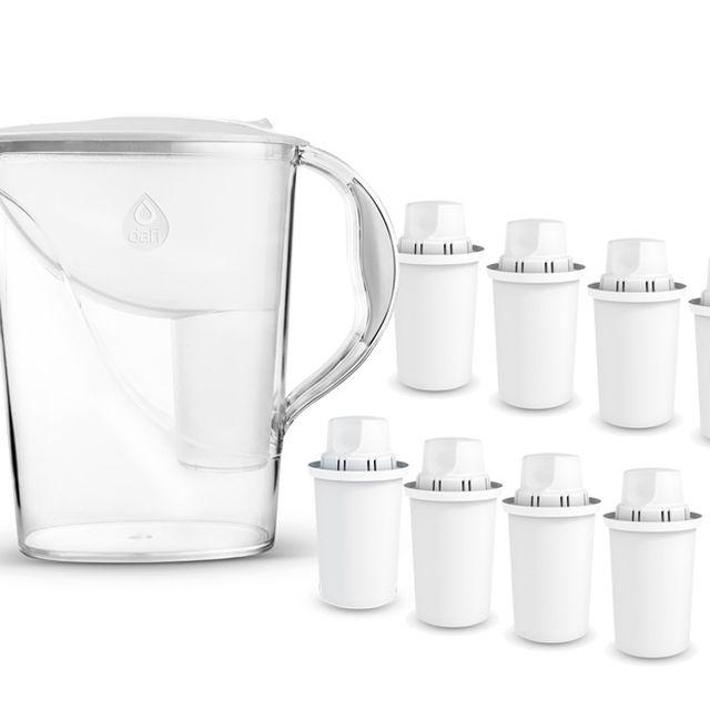 Dzbanek filtrujący Dafi Atria (biały) +8 wkładów Dafi Classic