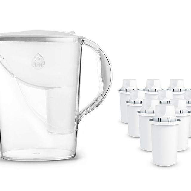 Dzbanek filtrujący Dafi Atria (biały) +10 wkładów Dafi Classic