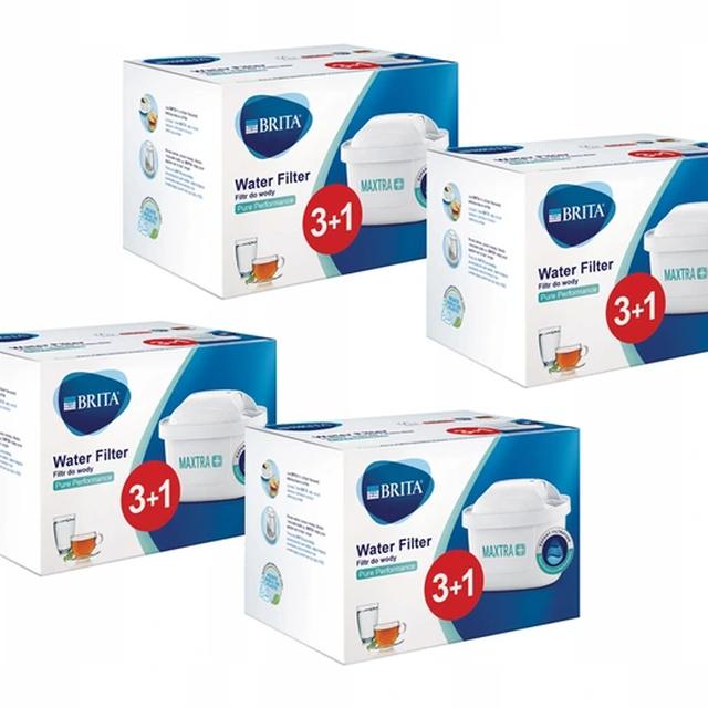 Filtr wody wkład do dzbanka Brita Maxtra+ Pure Performance 4x 3+1 BOX