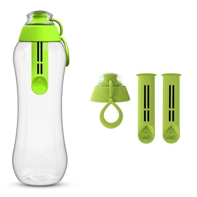 Butelka filtrująca DAFI 0,5L +3 filtry (zielony)