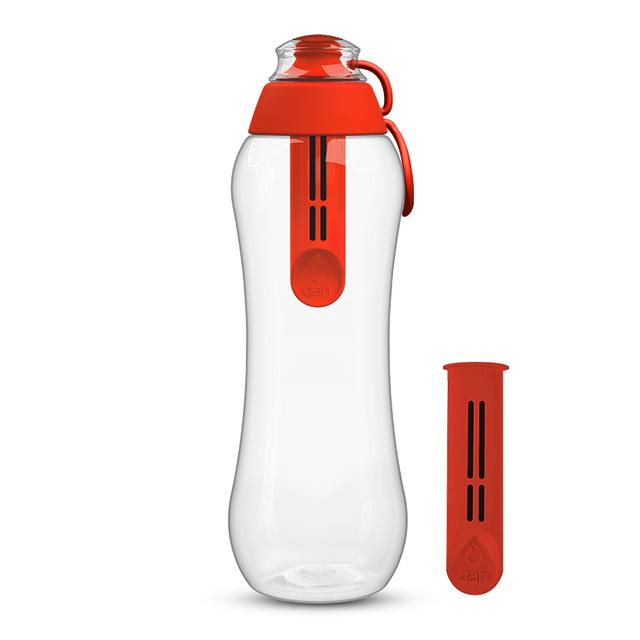 Butelka filtrująca DAFI 0,5L +2 (makowy)