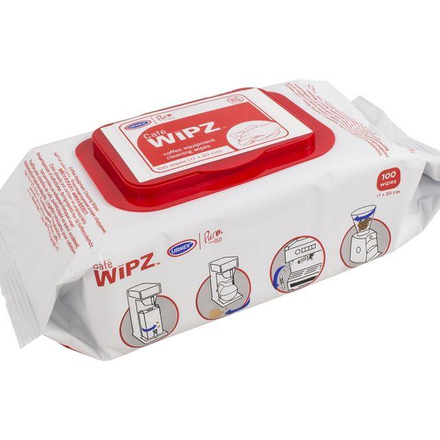 Ściereczki do czyszczenia ekspresu Urnex Wipz (100szt.)