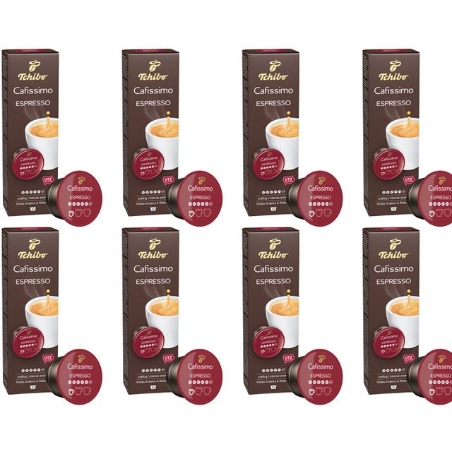 Kawa kapsułki Tchibo Cafissimo Espresso Intense Aroma 8x10 kaps.