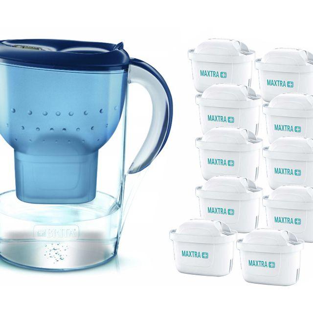 Dzbanek filtrujący Brita Marella XL (niebieski) +10 filtrów Maxtra Plus
