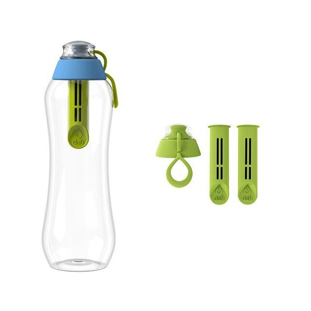 Butelka filtrująca DAFI 0,5L +1 (hybryda) Limitowana Edycja + 2-pack filtrów zielonych