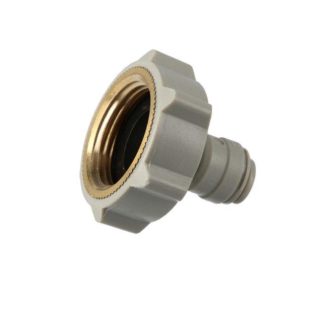 """Złączka żeńska DMFit AFAB0409F (1/4"""" tube x 3/4"""" BSP(P) flat inside)"""