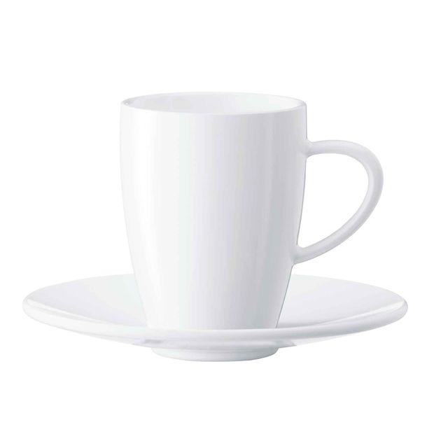 Zestaw porcelanowych filiżanek i spodków do espresso Jura (2szt.) 66497