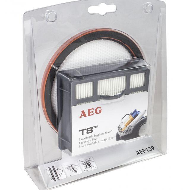 Filtr hepa + mikrofiltr do odkurzacza T8 AEG AEF139 9001671008