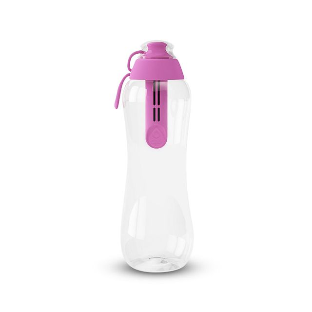 Butelka filtrująca DAFI 0,5L +1 filtr w zestawie (różowa / flamingowa)