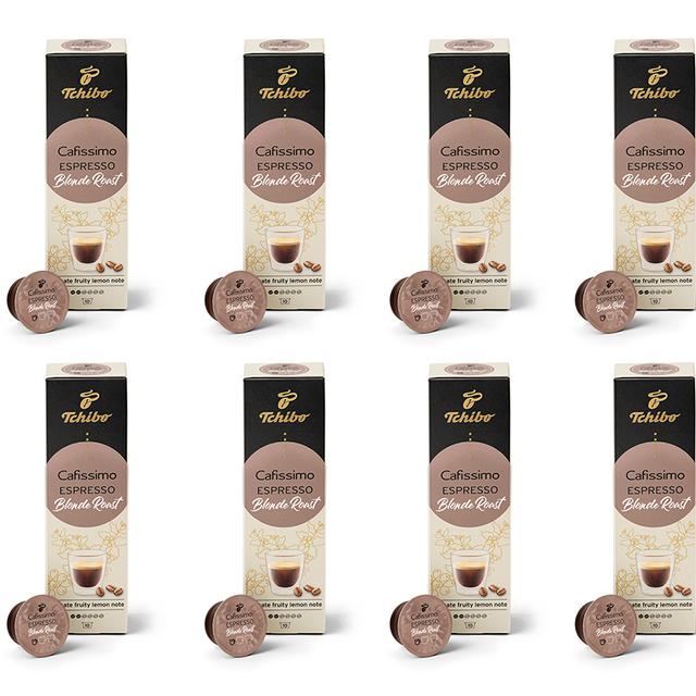 Kawa kapsułki Tchibo Cafissimo Espresso Blonde Roast (80 kapsułek)
