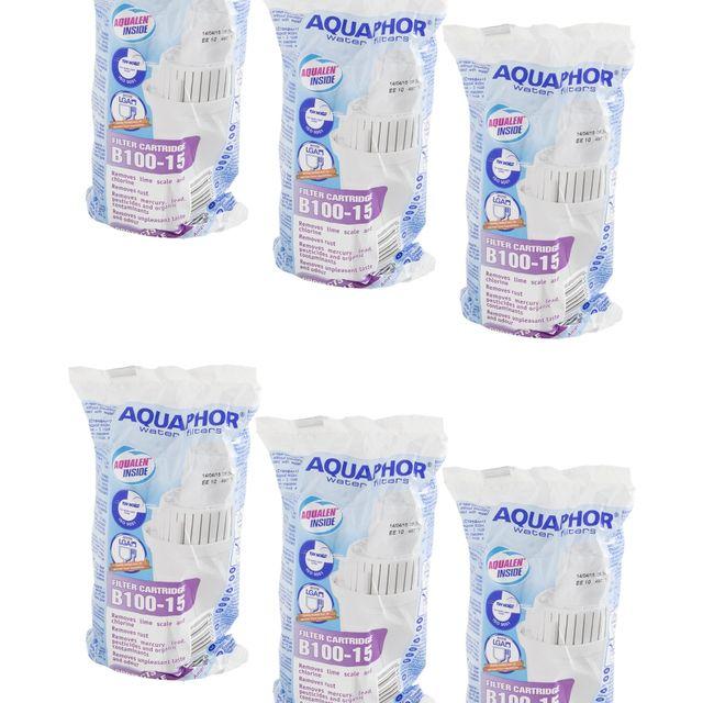 Filtr wkład do dzbanka Aquaphor B100-15 Standard (6 szt.)