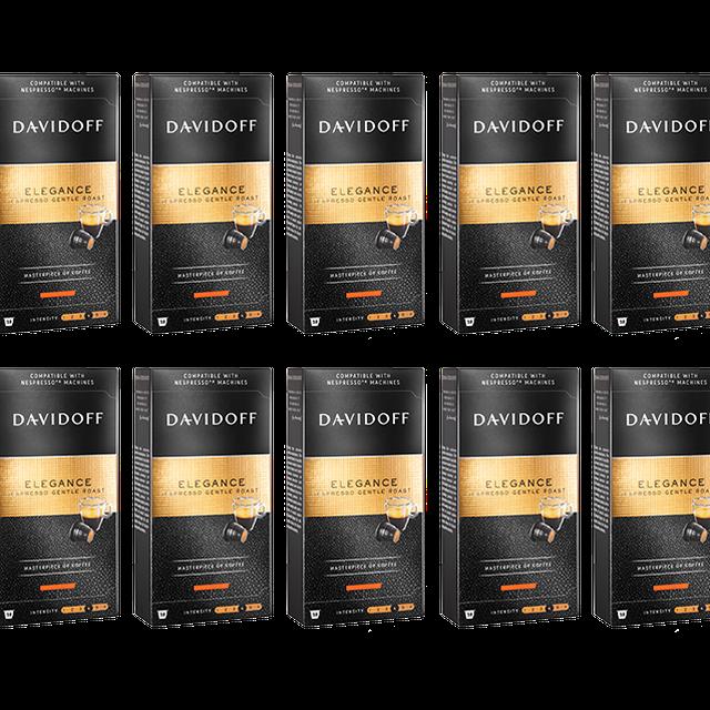 Kapsułki Davidoff Elegance do systemu Nespresso 10x10szt.