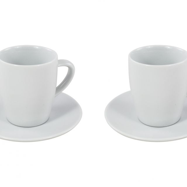 Zestaw porcelanowych filiżanek i spodków do kawy Jura (2szt.) 66499