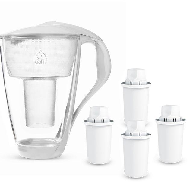 Dzbanek filtrujący Dafi Crystal (biały) +4 filtrów Dafi Classic