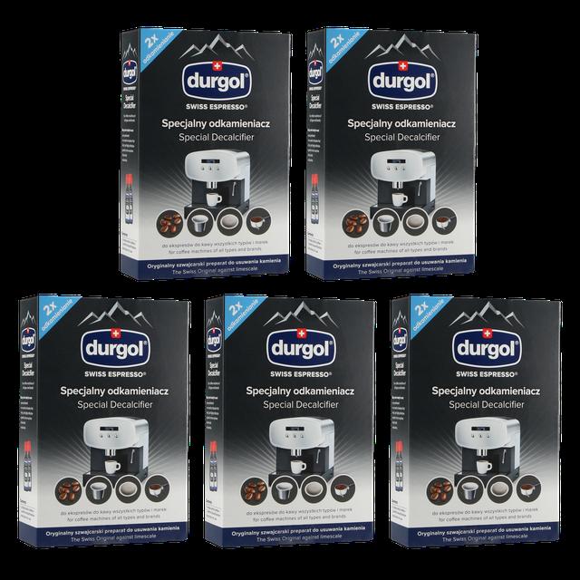 Odkamieniacz do ekspresów ciśnieniowych SWISS Durgol Espresso 2x125ml PRO (5 opakowań)
