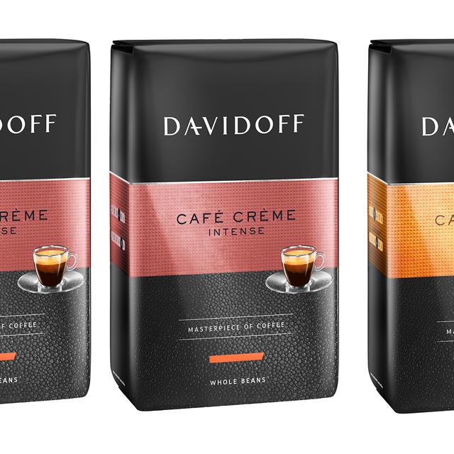 Kawa ziarnista Davidoff Cafe Creme Intense 500g (zestaw promocyjny 2+1)