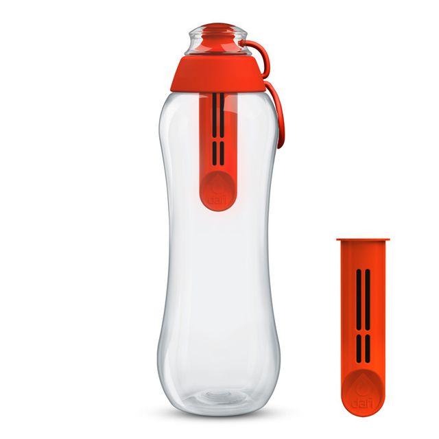 Butelka filtrująca DAFI 0,7L +2 (makowa)
