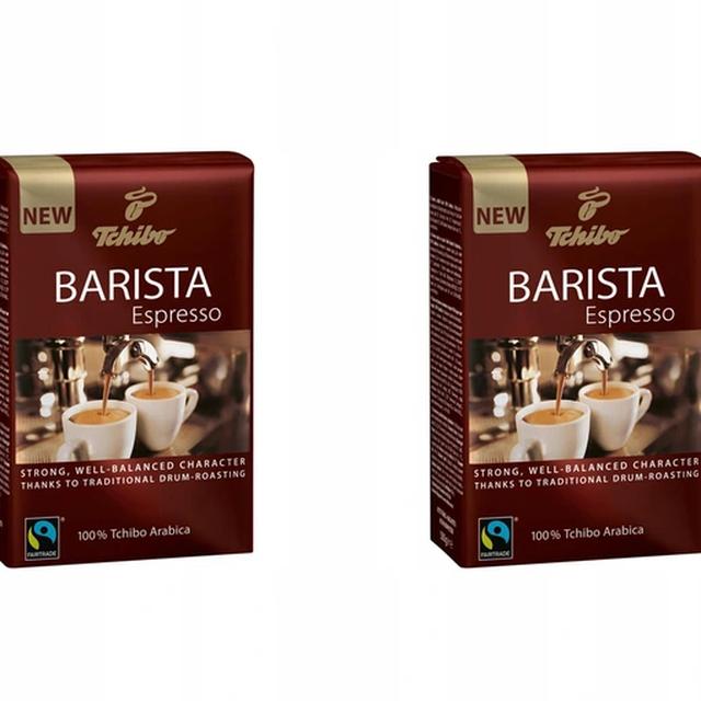Kawa ziarnista Tchibo Barista Espresso 2x500g