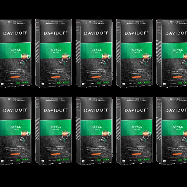 Kapsułki Davidoff Style do systemu Nespresso 10x10szt.