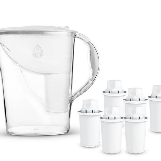 Dzbanek filtrujący Dafi Atria (biały) +6 wkłady Dafi Classic