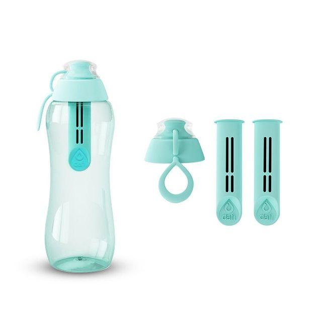 Butelka filtrująca DAFI 0,3L +3 filtry (miętowa)