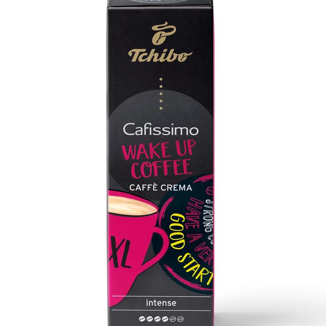 Kawa kapsułki Tchibo Cafissimo Crema XL 10 kapsułek - edycja WAKE UP