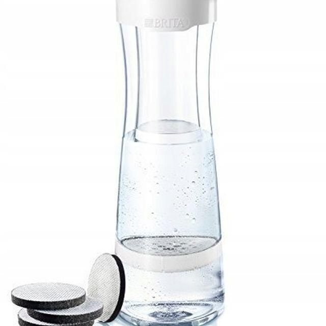 Karafka filtrująca wodę Brita Fill&Serve (grafitowa) +4 dyski