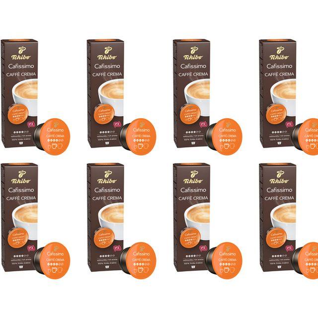 Kawa kapsułki Tchibo Cafissimo Crema Rich Aroma 8x10 kaps.