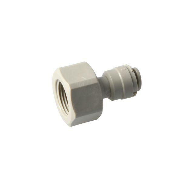 """Złączka żeńska DMFit AFAB0406C (1/4"""" Push fit to 3/8"""" Female)"""
