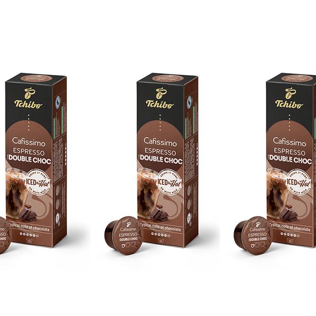 Kawa kapsułki Tchibo Cafissimo Espresso Double Chocolate (30 kapsułek)