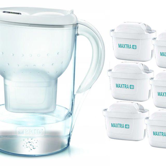 Dzbanek filtrujący Brita Marella XL +6 filtrów Maxtra Plus (biały)