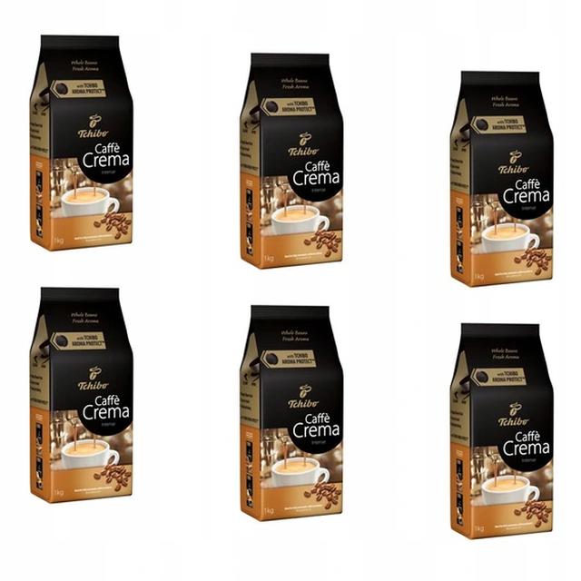 Kawa ziarnista Tchibo Caffé Crema Intense 6x1kg