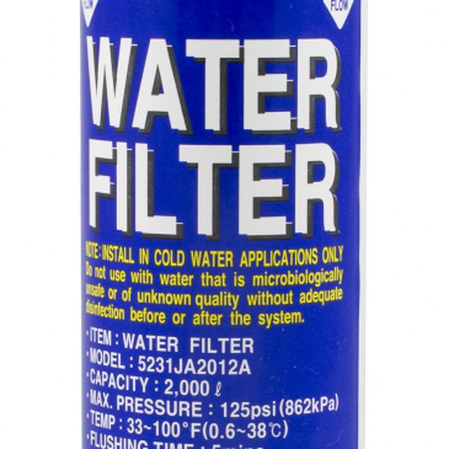 Filtr wody do lodówki LG BL9808 5231JA2012A