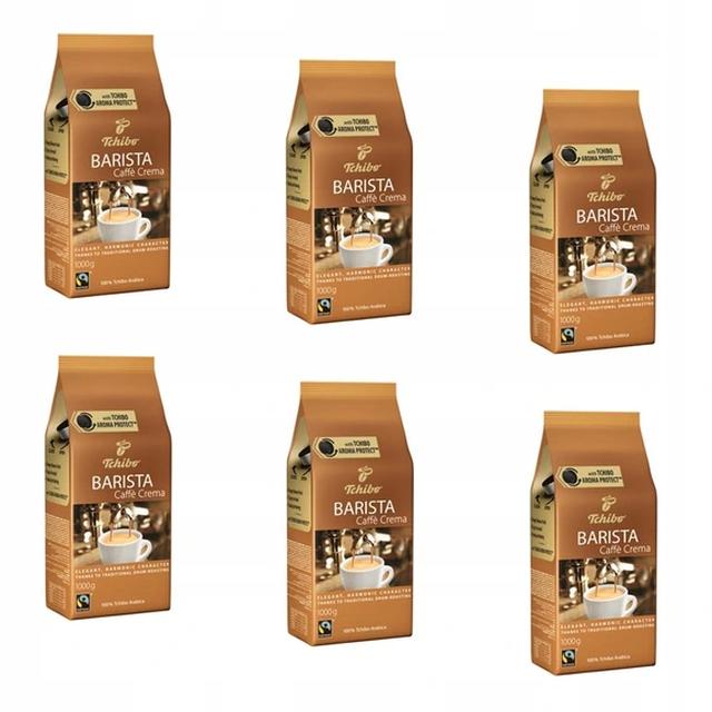 Kawa ziarnista Tchibo Barista Caffe Crema 6x1kg