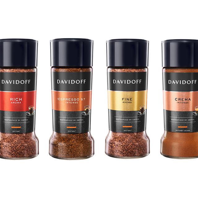 Kawa rozpuszczalna Davidoff - zestaw smakowy (Rich / 57 / Fine / Creme)