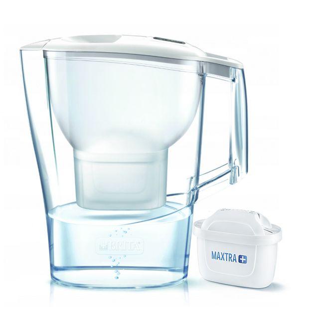 Dzbanek filtrujący Brita Aluna XL +1 filtr Maxtra Plus (biały)