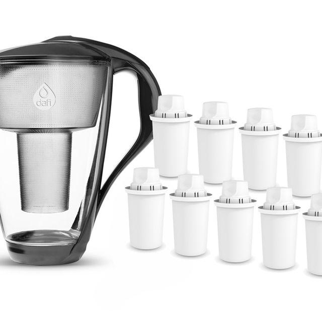 Dzbanek filtrujący Dafi Crystal (grafit) +10 filtrów Dafi Classic