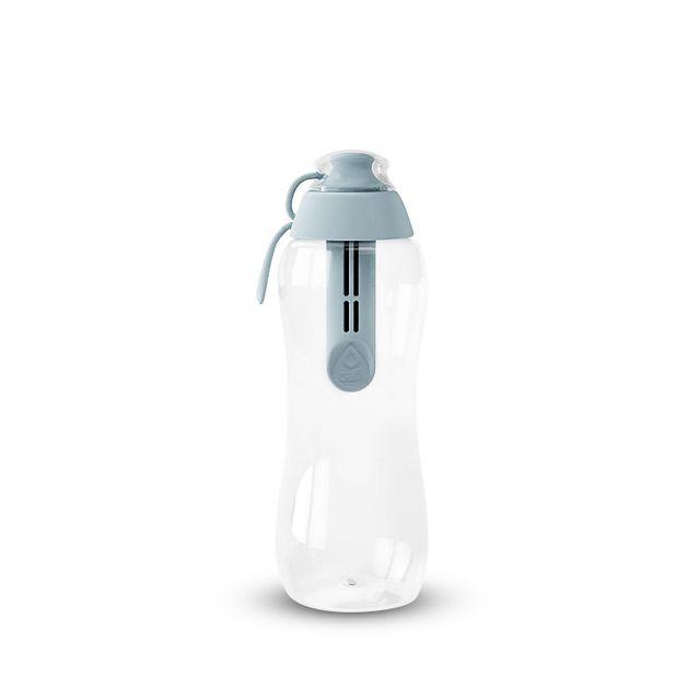 Butelka filtrująca DAFI 0,3L +1 filtr w zestawie (stalowa / szara)
