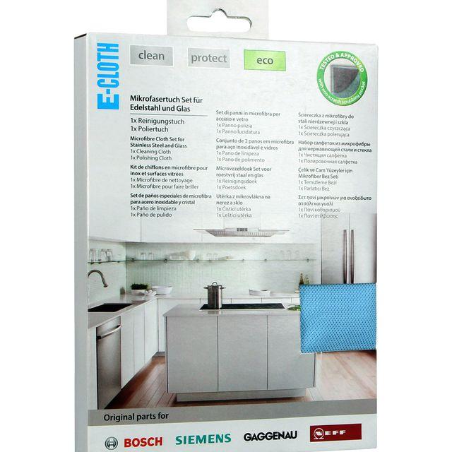 Ściereczka kuchenna czyszcząca z mikrofibry Bosch 466148 (2 szt.)