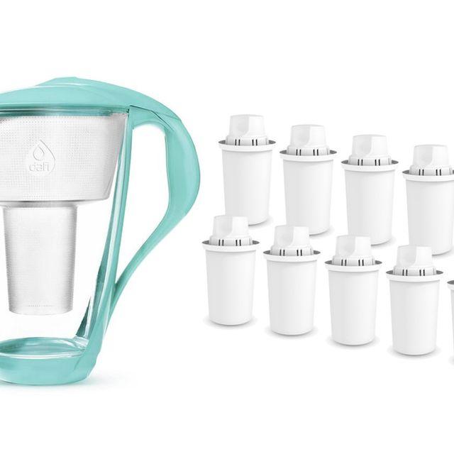 Dzbanek filtrujący Dafi Crystal (mięta) +10 filtrów Dafi Classic