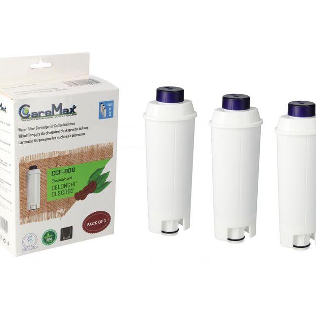 Filtr wody do ekspresu CareMax DeLonghi DLSC002 compatibile 3-pack