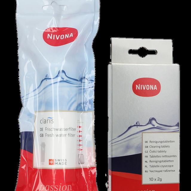 Zestaw do konserwacji ekspresu Nivona: filtr NIRF700 +tabletki NIRF701