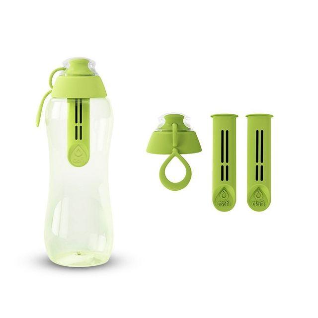 Butelka filtrująca DAFI 0,3L +3 filtry (zielona)